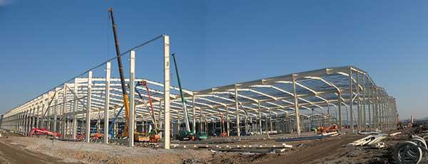 Europe's largest bonded warehouse under way