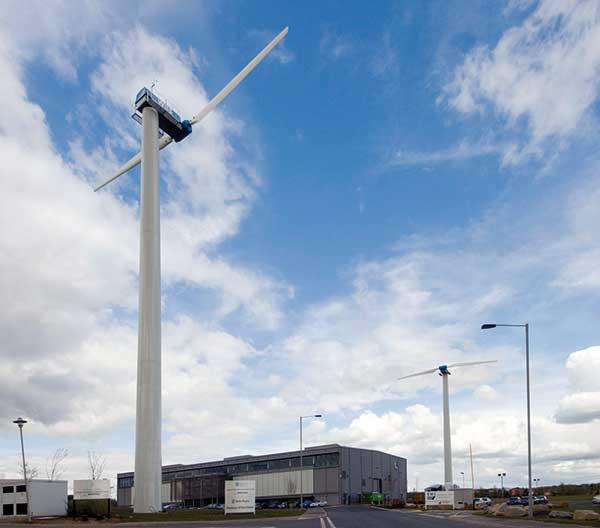 Wind powers new research centre