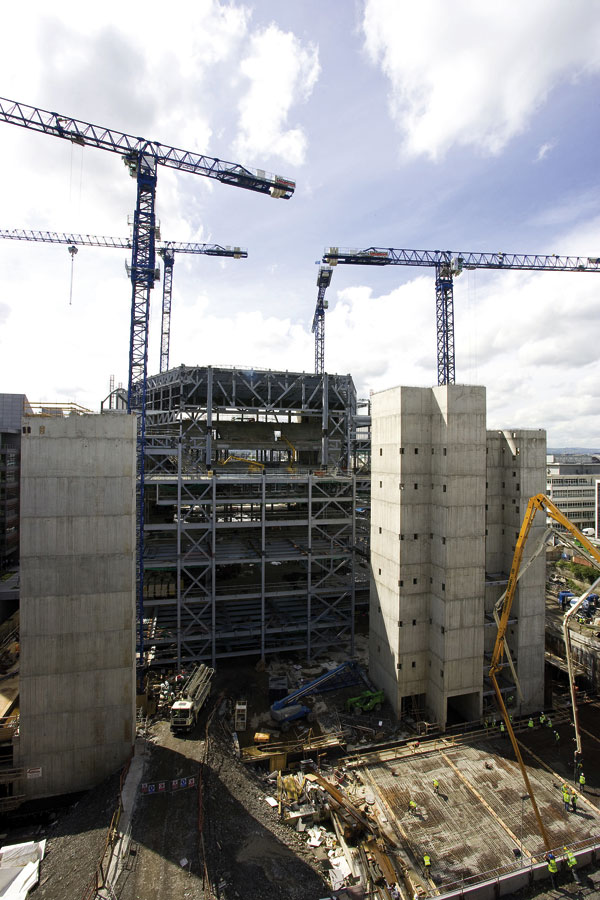Dublin's complex  convention centre on the rise