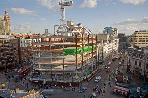 Commercial landmark for Victoria