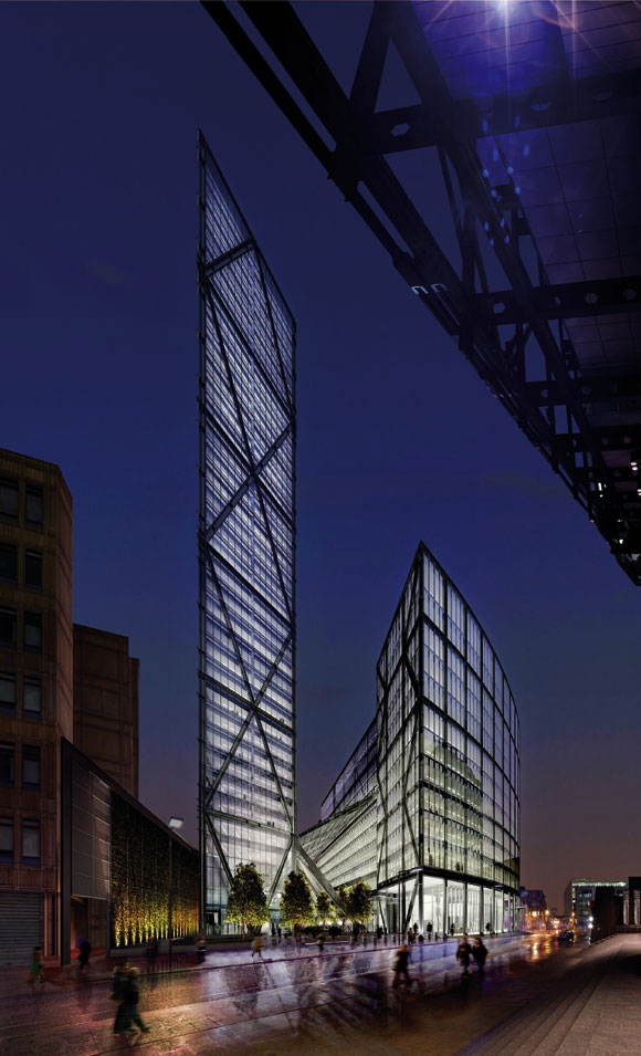 London gets signature towers