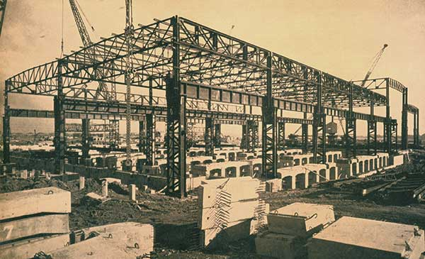 50 Years Ago: Structural Steelwork for the Motor Industry