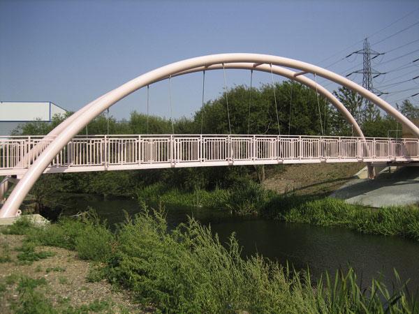 Vital link on River Lea walkway opened