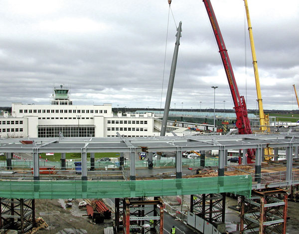 Allerton supplies support masts for Dublin Airport