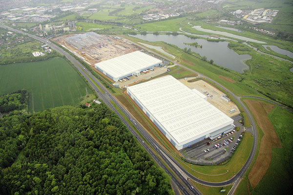 Distribution centres  for strategic site
