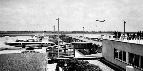 40 Years Ago: Steelwork speeds civil airport expansion