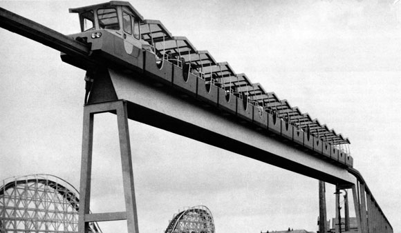 Britain's first commercial monorail