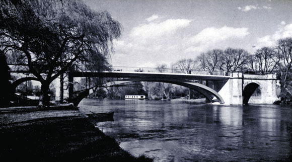 40 Years Ago: Attractive new bridge at Windsor