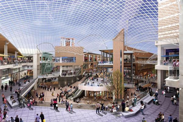 New look for Bristol's  historic centre underway