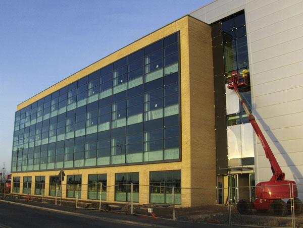 Largest UK office park underway