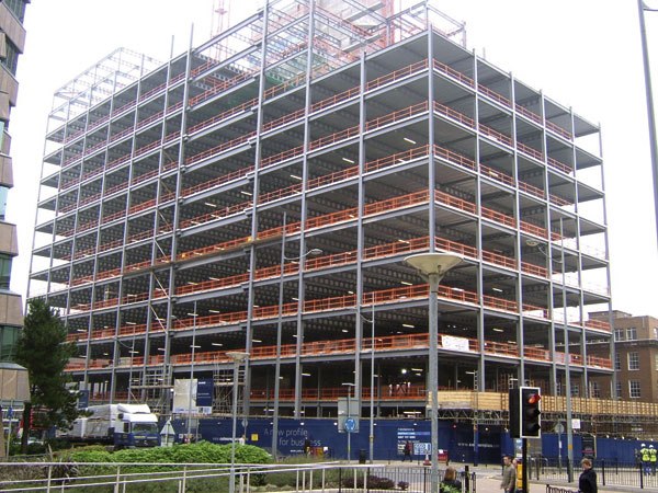 New office block for former newspaper site