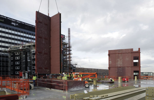 Modular cores save time in Liverpool
