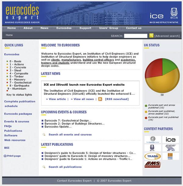 Expert Eurocode website launched