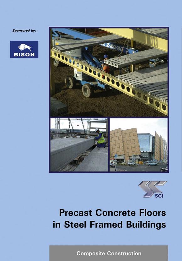 Precast concrete floors in steel framed buildings