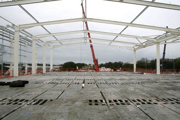 Steel tops the shopping list at two-storey B&Q