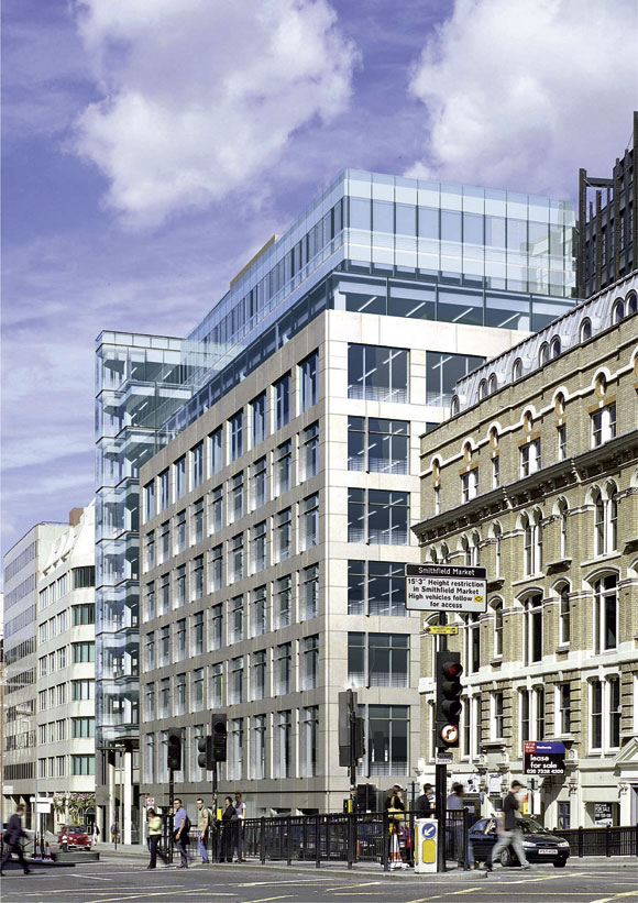 Precision engineering for London office block