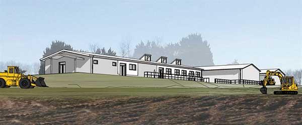 Steel construction drives college scheme