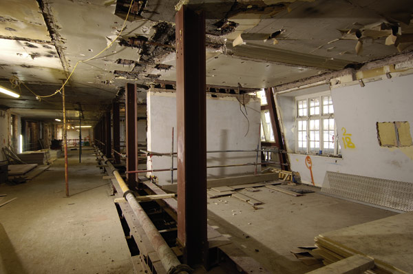 Steel opens up listed building
