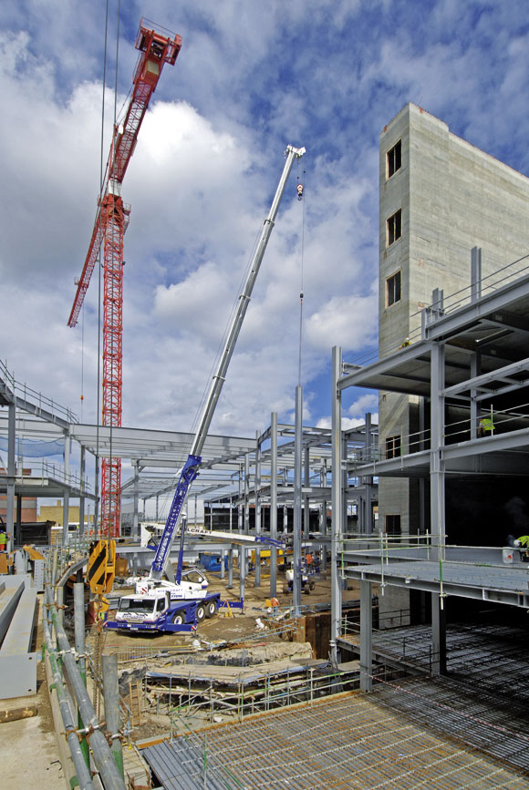 Steel delivers flexibility to Derby shops