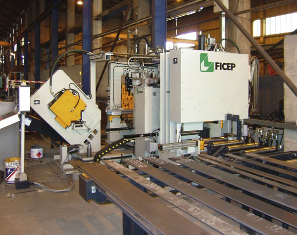 FICEP installs new processing equipment