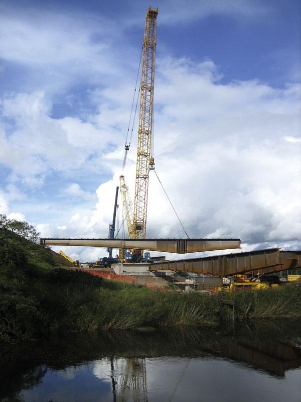 Weathering steel for Eden River