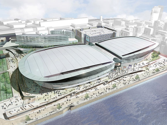 New convention centre and arena for Liverpool