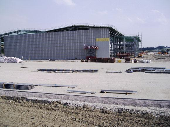Steel regeneration for old mine
