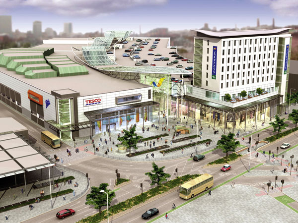 Hull city centre gets a make-over