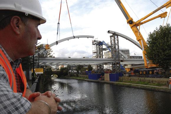 Building bridges for east London