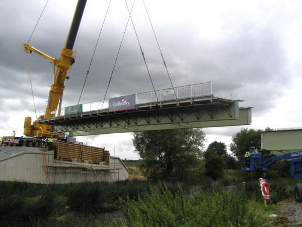 New bridge by-passes Barford