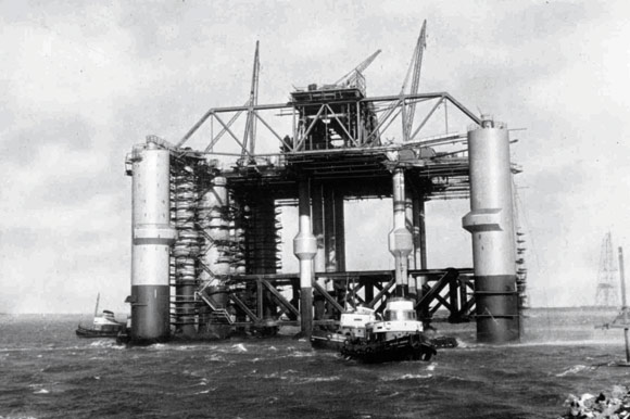 Structural steelwork and the North Sea operations