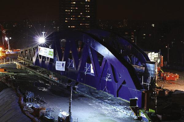 SSDA 2005 – Midland Mainline Bridge, CTRL 103 – Deck A – Kings Cross/St Pancras