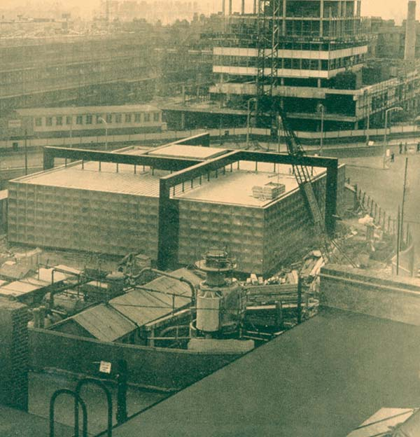 50 Years Ago: LTE Substation, Elephant & Castle