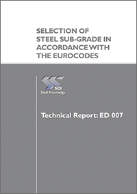 Selection of steel sub-grade in accordance with the Eurocodes