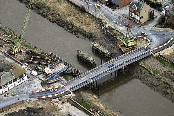 Goole swing bridge relieves congestion