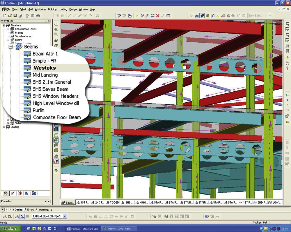 Assuring the Quality of Data Exchange during  Structural Design