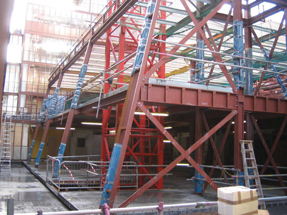 Steel gives new heart to University campus