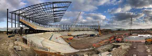 New stadium underpins soccer strategy
