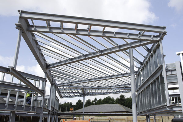 Metsec purlins rise to challenge of complex roof