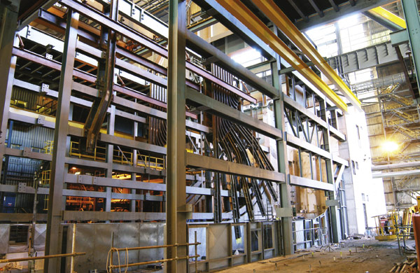 SSDA 2005 – Concast Facility Extension, Port Talbot Steel Works