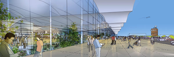 New Heathrow terminal waits to take off