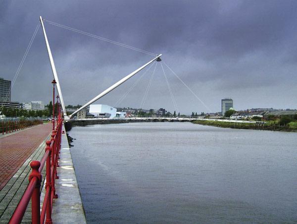 Newport landmark fabrication under way