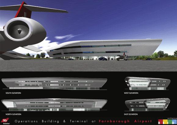 Terminal takes wing at Farnborough