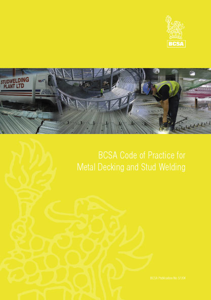 Code of Practice for Metal Decking and Stud Welding
