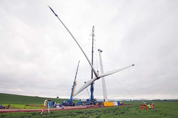 More turbines installed for north east