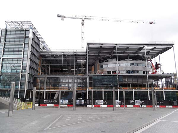 Steel completes greenest public building