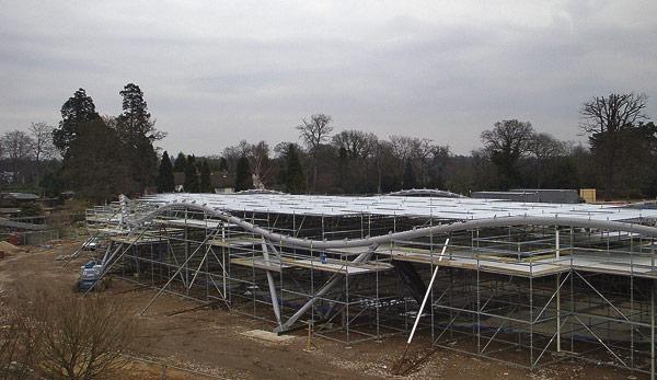 Unique roof for Windsor visitor centre