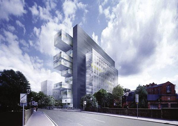 Legal landmark gets complex design