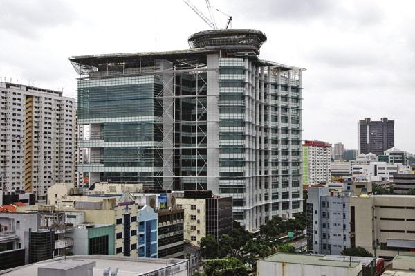 Singapore library chooses Corus steel