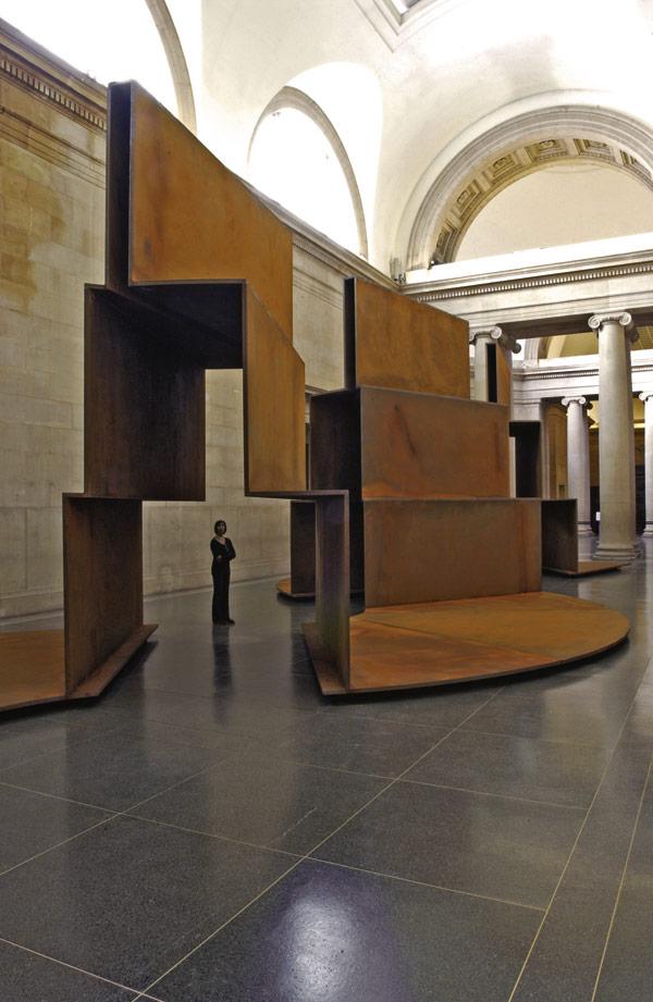Tate's 100 tonne steps